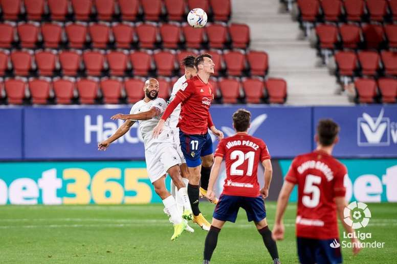 Osasuna y la SD Huesca empataron en El Sadar. LaLiga