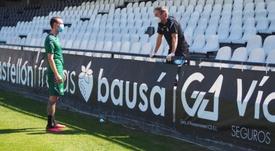 El Castellón ha anunciado dos positivos tras los test de pretemporada. Twitter/CD_Castellon