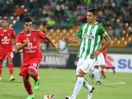 A Atlético Nacional le bastó con un tempranero gol para imponerse a Fortaleza. AtlNacional