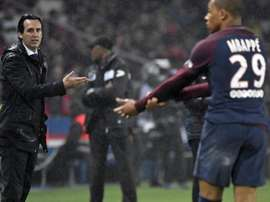Unai Emery thinks Mbappe could do very well at Real Madrid. EFE