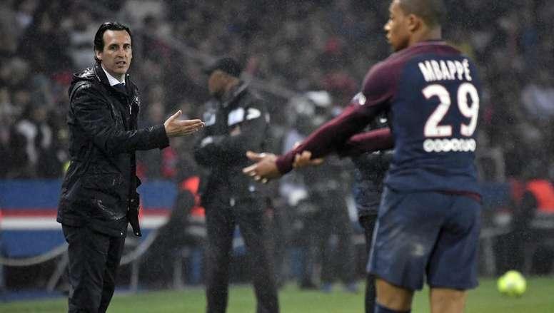 Mbappé rêve de jouer au Real Madrid. AFP