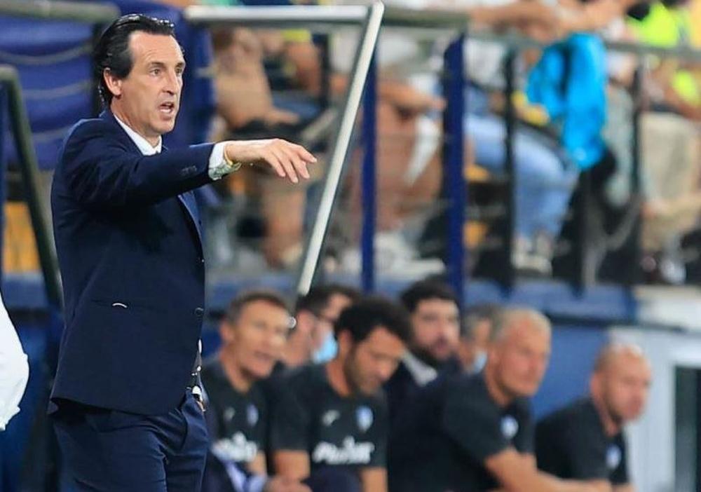 Unai Emery afirmó que el Villarreal mereció la victoria ante el Atalanta. EFE