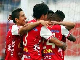 Universitario comienza con buen pie el Apertura Peruano. Twitter