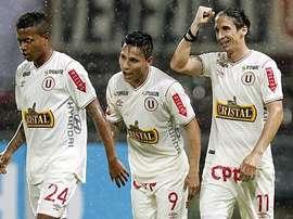 Universitario no pudo lograr la victoria en la primera jornada. Twitter