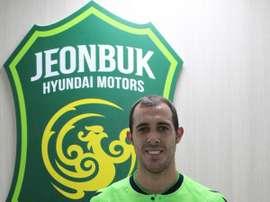 Urko Vera ficha con el Jeonbuk Hyundai. Twitter