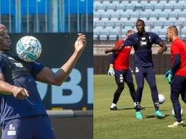 Bolt jugará con el Stromsgodset un amistoso. Captura/Bolt
