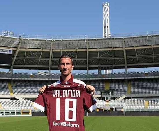 Valdifiori es uno de los tres jugadores en la rampa de salida. TorinoFC