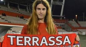 Valentina Berr jugará su primer partido oficial este domingo. TerrassaFC