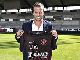 El futbolista se despidió del que ya es su ex equipo. Midtjylland
