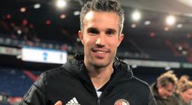 Van Persie vuelve al Feyenoord. Twitter/Feyenoord