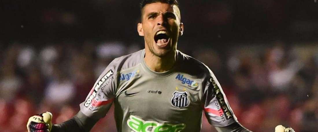 Vanderlei, el muro de Santos. SantosFC