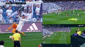 VAR did not give Madrid the goal. Screenshot/beINSports