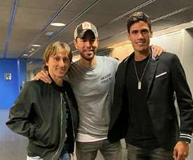They went to an Enrique Iglesias concert. Screenshot/RaphaelVarane