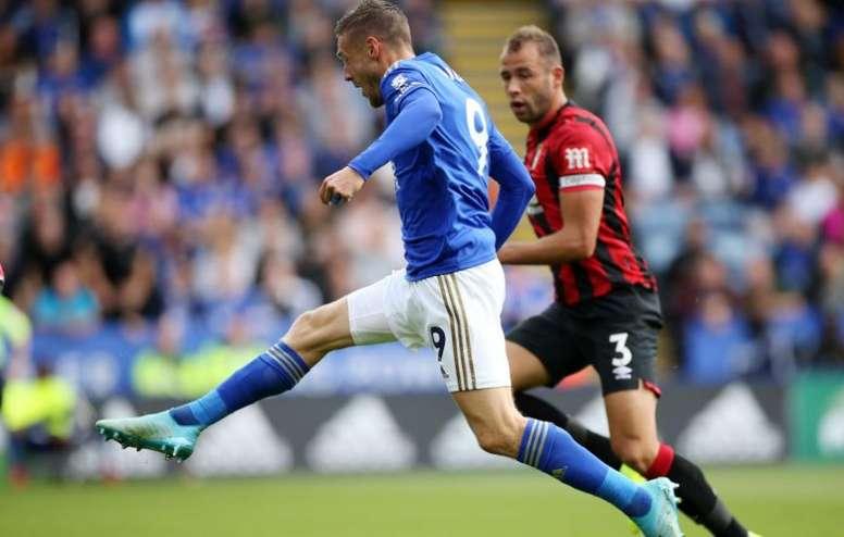Vardy lidera al nuevo Leicester. LeicesterFC