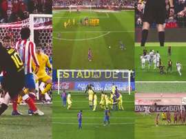 Welcome to the Leo Messi free-kick museum. LaLiga