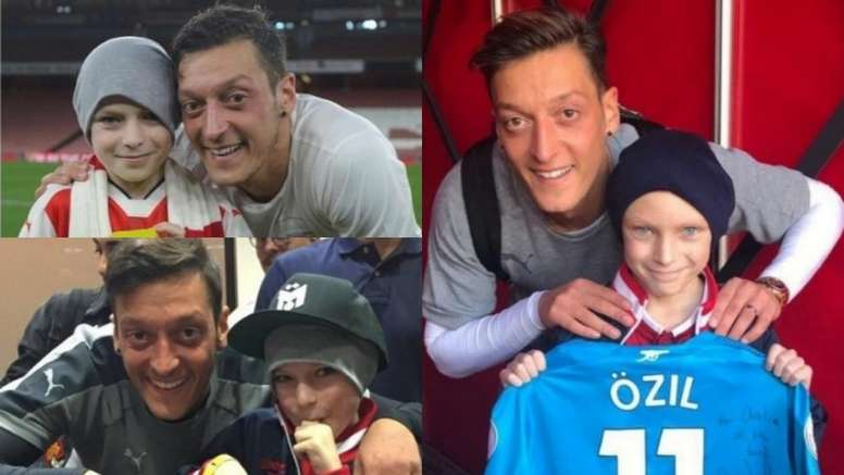 Ozil Pays Tribute To Young Fan After Losing Cancer Battle Besoccer
