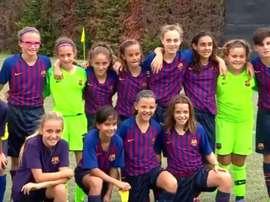 Gran noticia para el fútbol femenino. Twitter/FCBarcelonaFemení