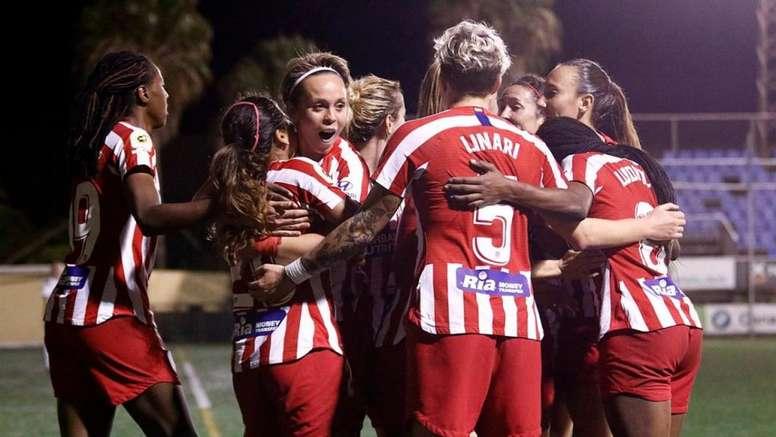 El sorteo de la Supercopa Femenina entra a escena este jueves. Twitter/AtletiFemenino