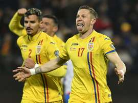 Romania cruised past Croatia in the early kick-off in Group C. Twitter/Romania
