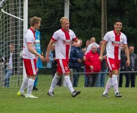 El choque acabó con empate a tres. Antwerp