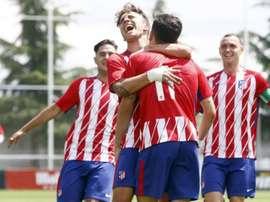 El Atlético ganó 3-0 en la ida de semifinales. @Atleti