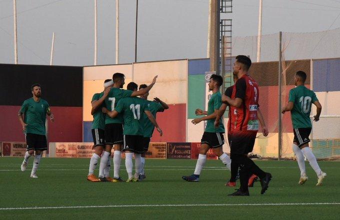 El Córdoba ganó con contundencia en Pozoblanco. CordobaCFSAD