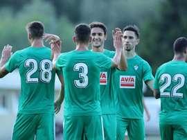 El Eibar firmó la primera victoria de la pretemporada. SDEibar
