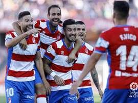 El Granada derrotó al Córdoba. LaLiga