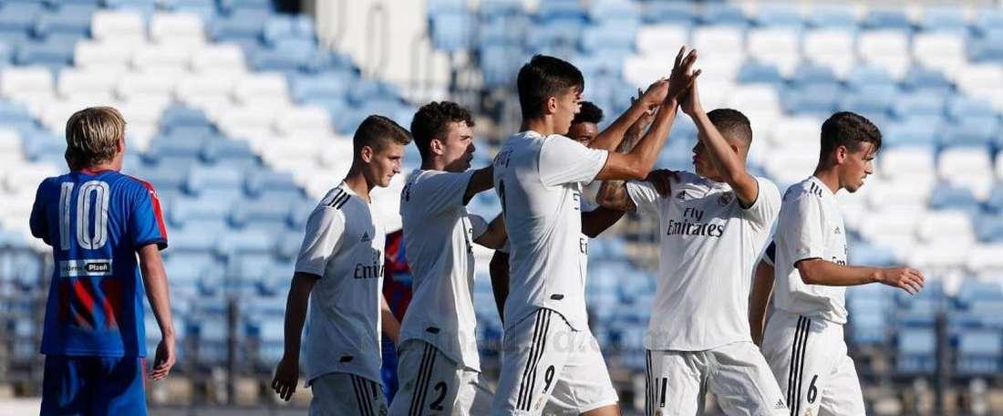 El Madrid sufrió para ganar. RealMadrid