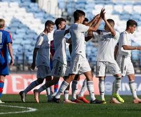 El Madrid sumó una nueva victoria. RealMadrid
