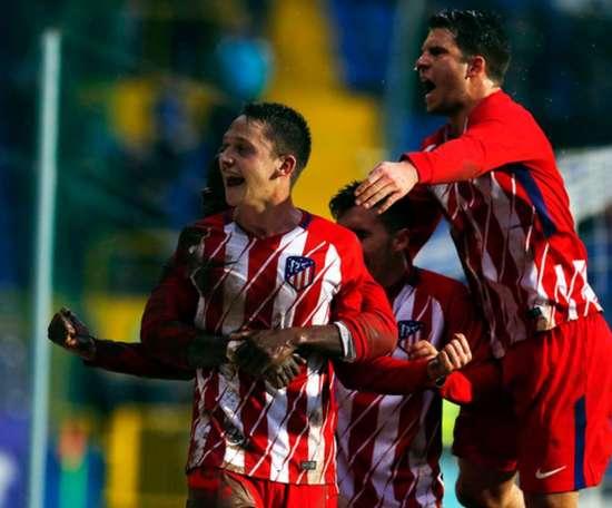 Los juveniles del Atleti golpearon primero en los octavos de la Copa del Rey. AtleticoDeMadrid