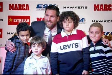 Un momento inolvidable para los niños. Captura/MarcaTV