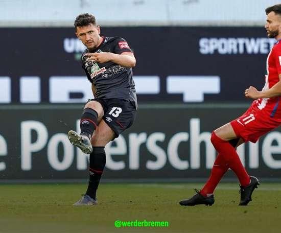 El Werder seguirá un año más en la élite. Twitter/werderbremen