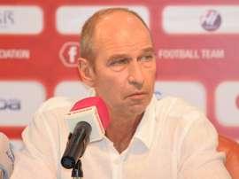 Verbeek, nuevo seleccionador de Omán. OmanFA