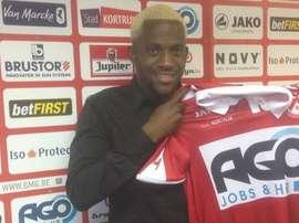 Verboom, nuevo jugador del Kortrijk, KVK