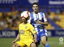 Vicente Gómez se despidió del Deportivo. LaLiga