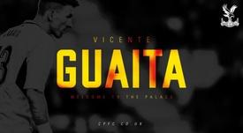 Guaita cambia LaLiga por la Premier. Twitter/CPFC