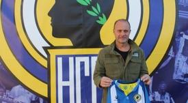 El orgullo de Vicente Mir al volver al Hércules. CFHércules