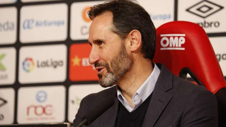El logro que Vicente Moreno logró en el Nàstic y repitió en Mallorca. Twitter/RCD_Mallorca