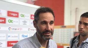 Vicente Moreno analizó la derrota del Mallorca. RCDMallorca