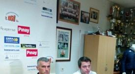 Vicente Parras ya dirigió al Ontinyent la pasada temporada. Ontinyent/Archivo