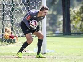 Victor volta a jogar com o Atlético-MG. Twitter