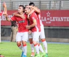 El Murcia derrota al Lorca Deportiva. RealMurcia