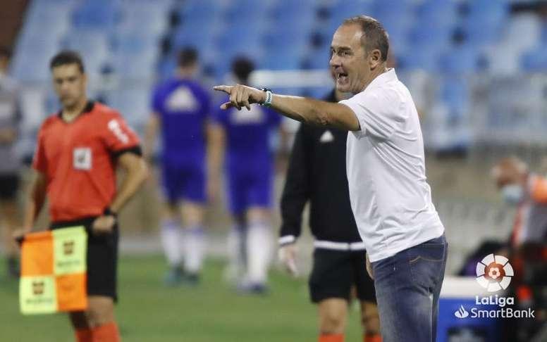 El Zaragoza volverá a entrenar en grupo este martes. LaLiga