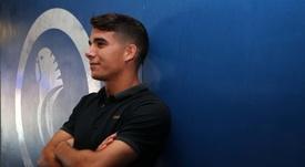 Víctor Gómez convenció en su esperado debut. RCDESpanyol