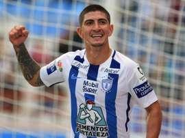 O Porto está interessado em Víctor Guzmán. EFE