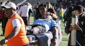 Investigan si la altitud de 4.000 metros influyó en la muerte del árbitro boliviano. AFP
