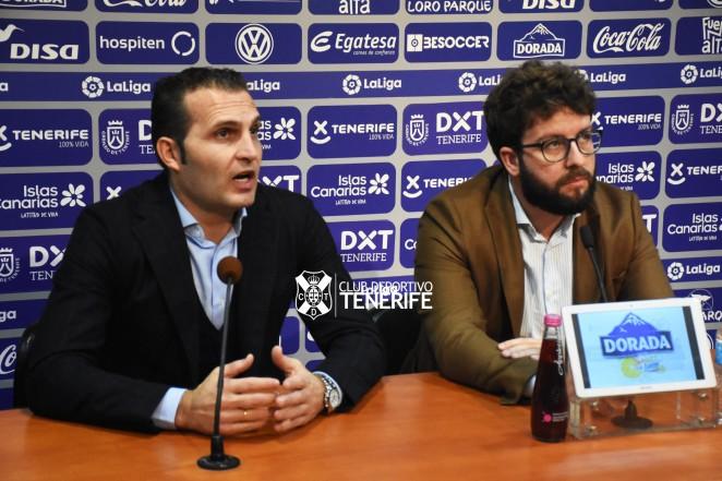 Víctor Moreno descartó dejar la dirección deportiva. CDTOficial