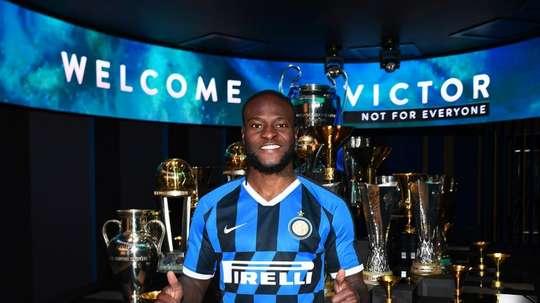 A Inter já estaria negociando a compra de Moses. Twitter/Inter