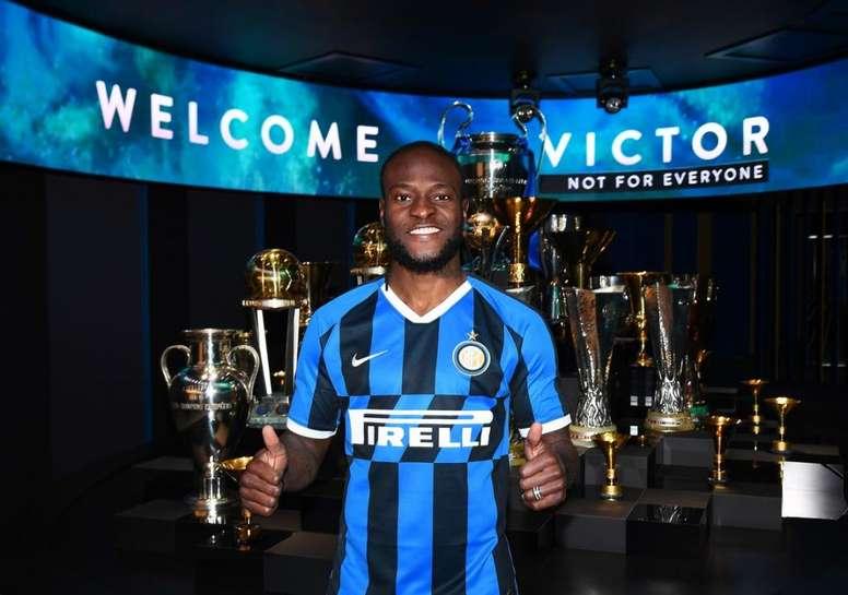 OFFICIEL : Victor Moses rejoint l'Inter Milan en prêt. Twitter/Inter